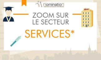 Zoom sur le secteur : Services