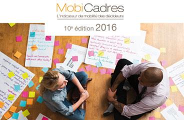 Couverture du Livre Blanc MobiCadres 2016 : qu'est-ce qui fait bouger les décideurs ?