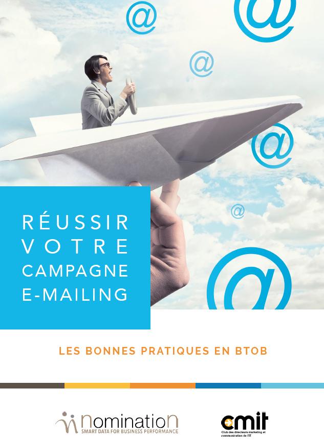 Couverture du Livre Blanc Réussir votre campagne e-mailing – Les bonnes pratiques en BtoB