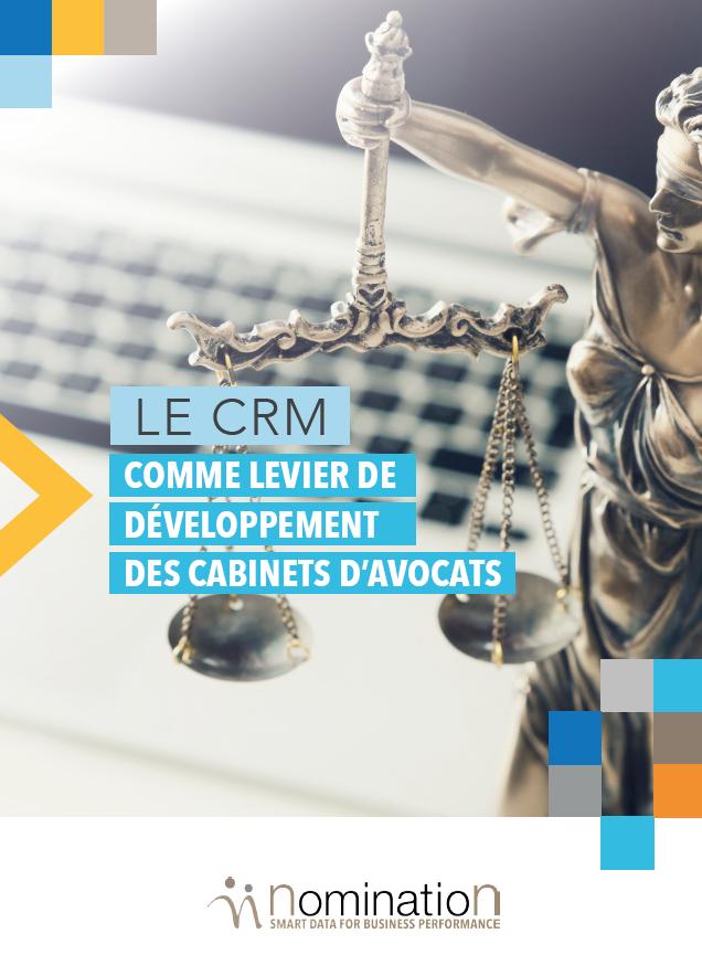 Couverture du Livre Blanc Le CRM comme levier de développement des cabinets d'avocats