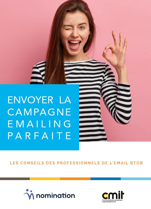 Couverture du Livre Blanc Envoyer la campagne emailing parfaite – Les bonnes pratiques en BtoB