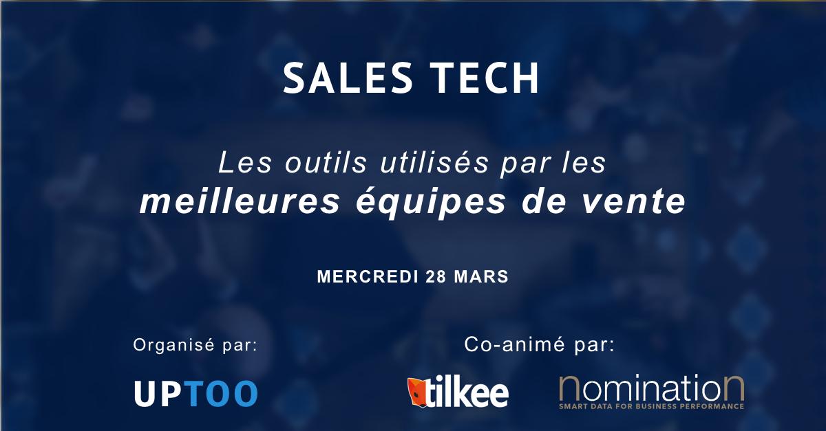 Évènement Atelier Sales Uptoo-Nomination – 28/03 Nomination