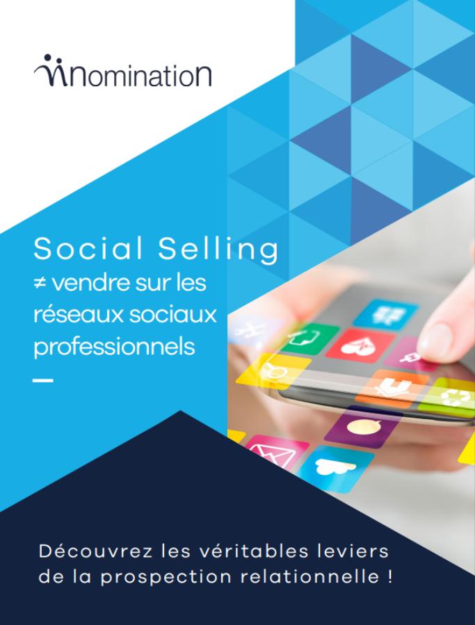 Couverture du Livre Blanc Social Selling ≠ vendre sur les réseaux sociaux professionnels