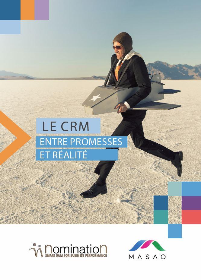Couverture du Livre Blanc Le CRM : entre promesses et réalité