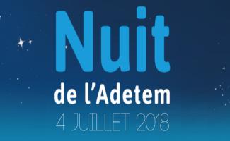 Évènement La Nuit de l'Adetem – 04/07 Nomination