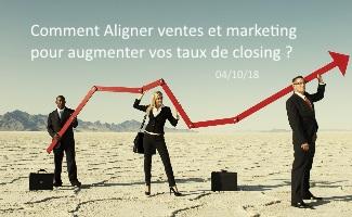Évènement Petit déjeuner – Comment aligner ventes et marketing pour augmenter vos taux de closing ? Nomination