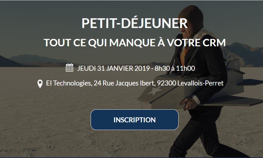 Évènement Petit-Déjeuner Nomination/EI-Technologies – 31/01 Nomination