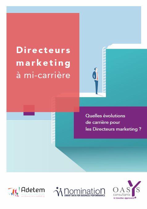 Couverture du Livre Blanc Quelles évolutions de carrière pour les Directeurs marketing ?