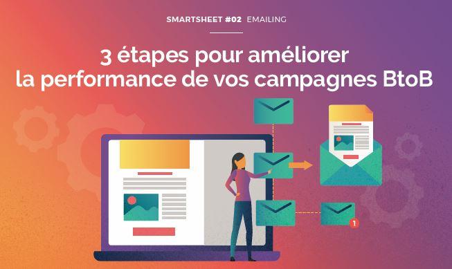 Couverture du Livre Blanc Smartsheet#02 Emailing : 3 étapes pour améliorer la performance de vos campagnes BtoB