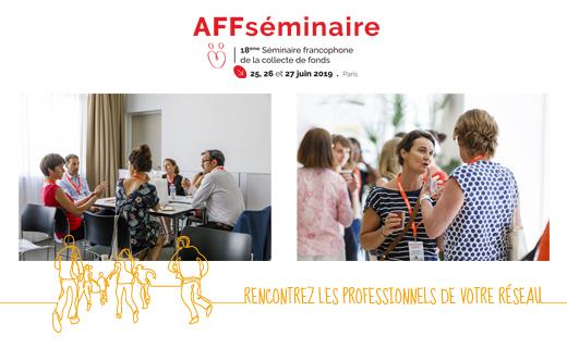 Évènement Séminaire Francophone de la collecte de fonds – 25, 26 et 27/06 Nomination