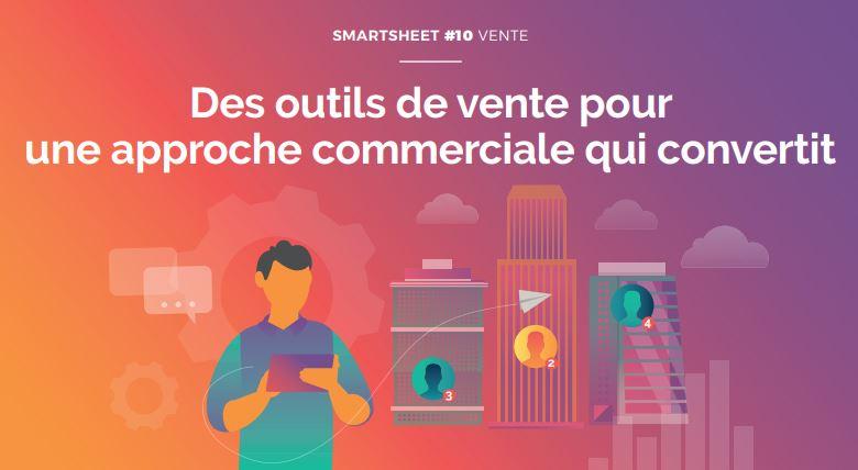 Couverture du Livre Blanc Smartsheet#10 Vente : quelques solutions à adopter d'urgence pour soulager votre force de vente et améliorer leurs résultats.