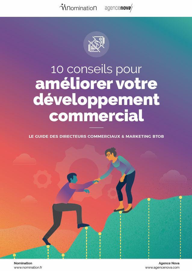 Couverture du Livre Blanc 10 conseils pour améliorer votre développement commercial