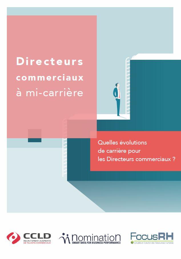 Couverture du Livre Blanc Quelles évolutions de carrière pour les Directeurs commerciaux ?
