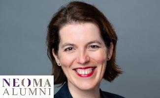 Agnès Flouquet-Vilboux, DG de l'association des diplômés de Neoma Business School