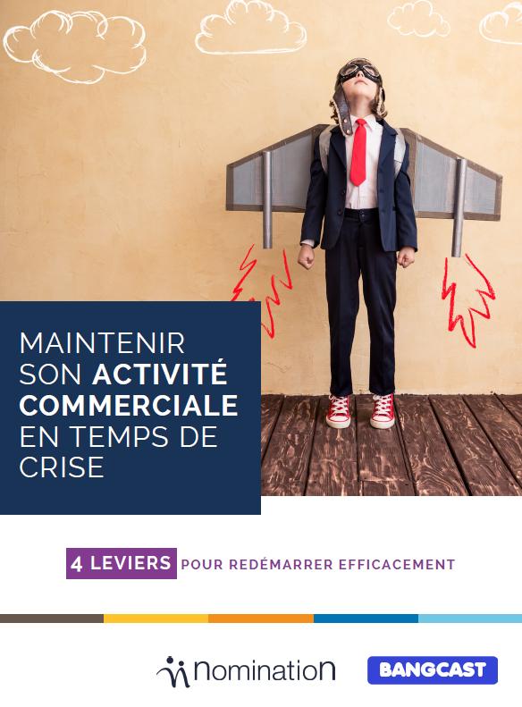 Couverture du Livre Blanc Maintenir son activité commerciale en temps de crise