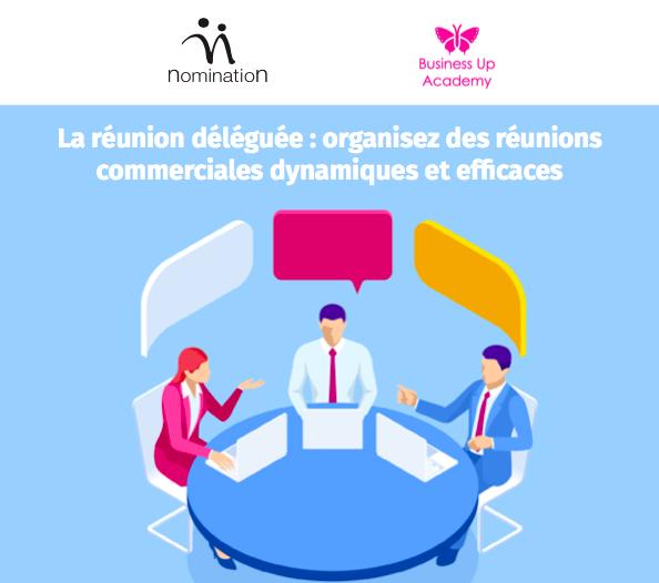 Couverture du Livre Blanc Comment organiser des réunions commerciales dynamiques et efficaces ?
