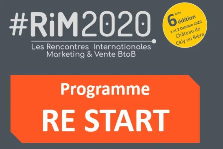 Évènement RIM – 01/10 & 02/10 Nomination