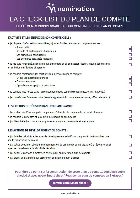 Couverture du Livre Blanc La check-list du plan de compte