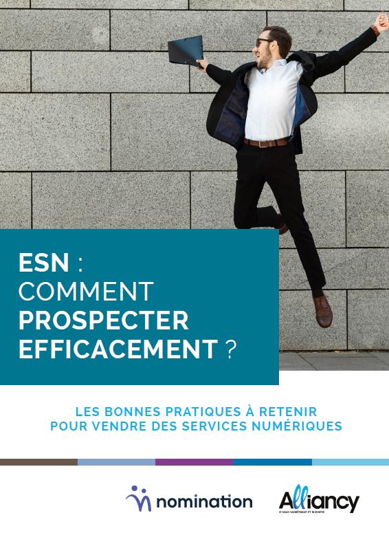 Couverture du Livre Blanc ESN : comment prospecter efficacement ?