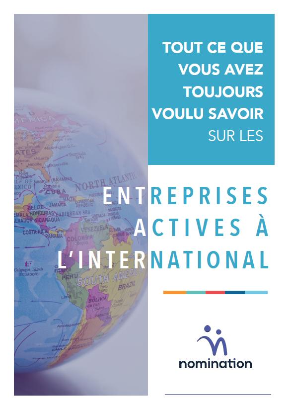Couverture du Livre Blanc Tout ce que vous avez toujours voulu savoir sur les entreprises actives à l'international