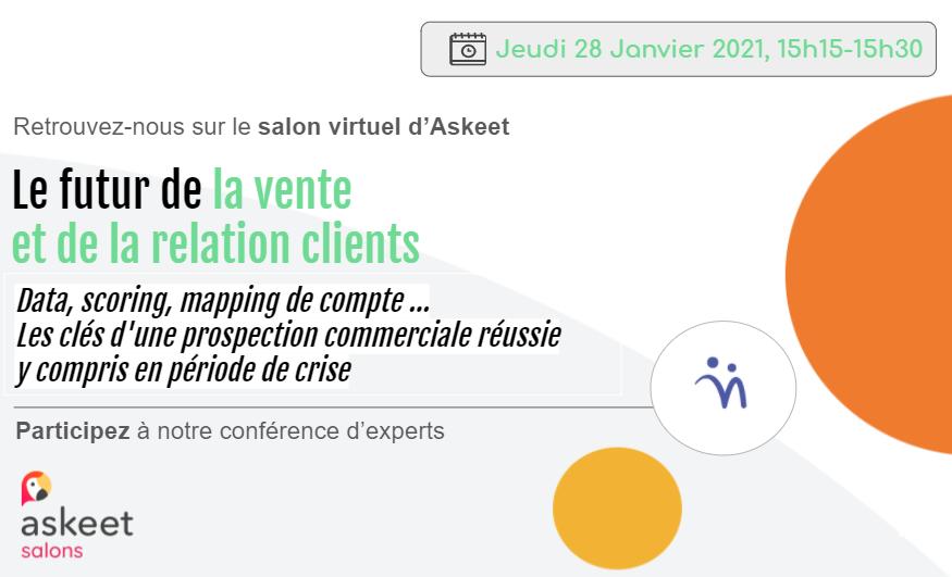 Évènement [28 Jan. 2021] Conférence Salon d'Askeet Nomination