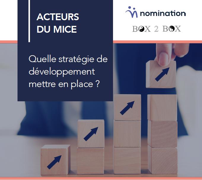 Couverture du Livre Blanc Acteurs du MICE : quelle stratégie de développement mettre en place ?