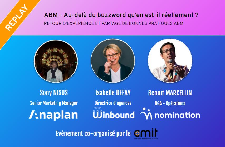 Évènement [Replay] Retour d'expérience et partage de bonnes pratiques ABM Nomination