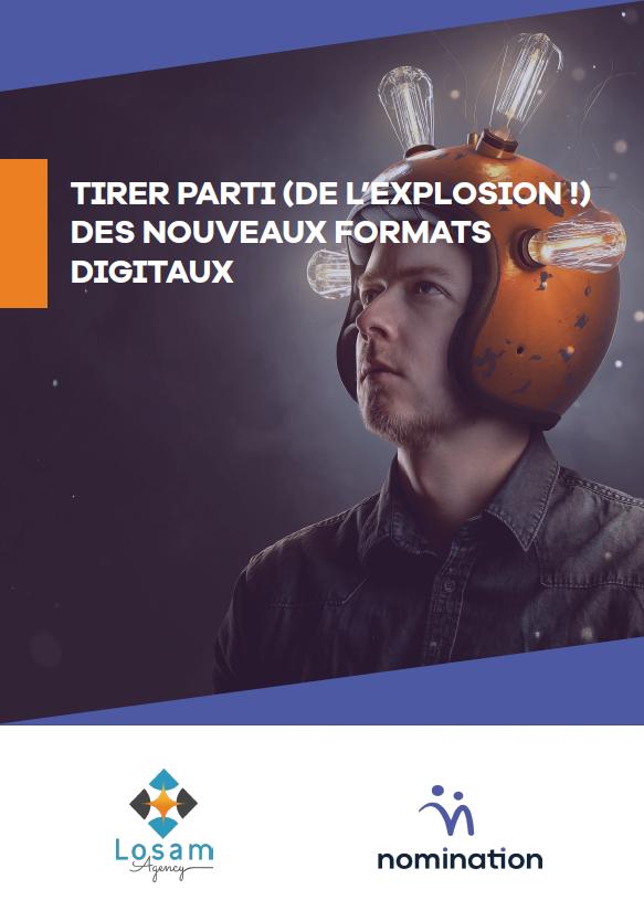 Couverture du Livre Blanc Tirer parti (de l'explosion !) des nouveaux formats digitaux