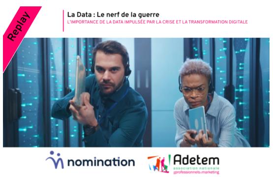 Évènement Replay – La Data : Le nerf de la guerre Nomination