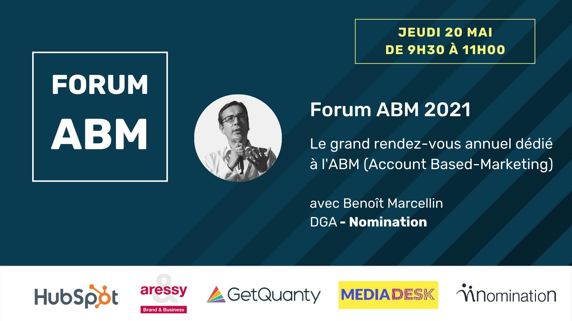 Évènement Replay – Forum ABM Nomination