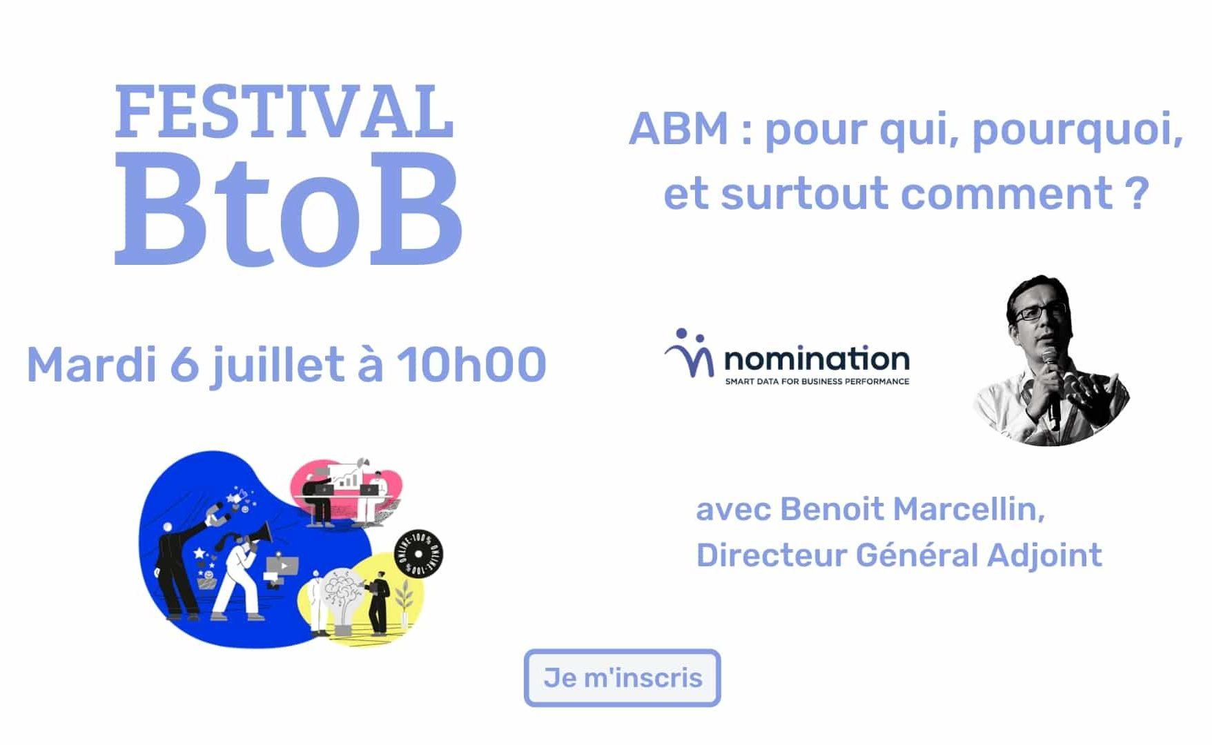 Évènement [6 juil 2021] Aressy Plezi Festival BtoB Nomination