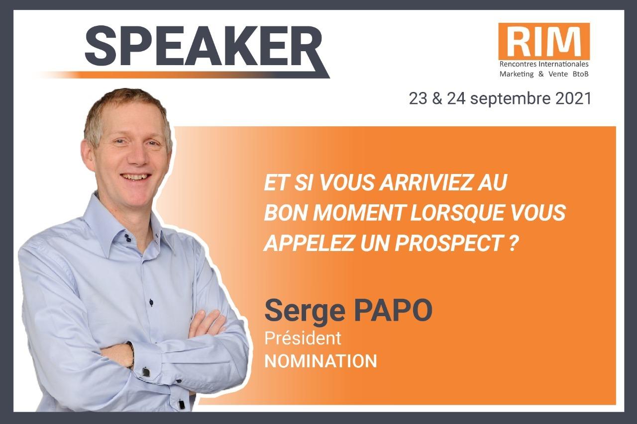 Évènement Rencontres Internationales Marketing & Vente BtoB Nomination