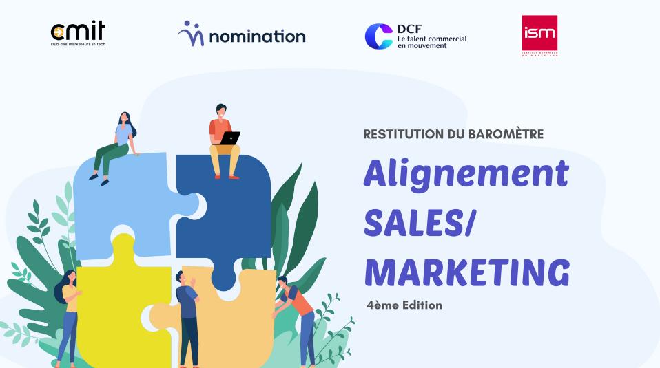 Livre Blanc Baromètre alignement Sales/ Marketing